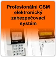 Profesionální bezdrátový GSM zabezpečovací systém Jablotron