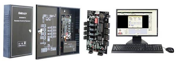 řídící jednotka pro 4 dveře, IP komunikace, SW v ceně