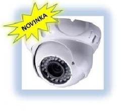 Stropní kamera s IR, 600TVL, objektiv 4 - 9 mm