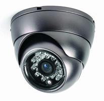 Stropní kamera s IR, 600TVL