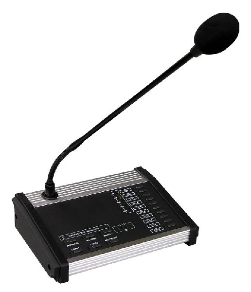 Přepážkový mikrofon s výběrem