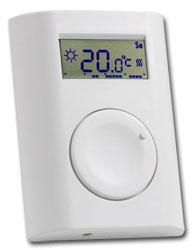 Programovatelný bezdrátový pokojový termostat s IR teplotním senzorem