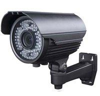 Venkovní kamery s IR přísvitem 60m - 600TV řádku, objektiv 2.8-12 mm