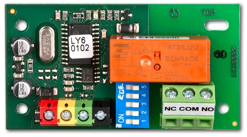 Sběrnicový silový modul výstupů PG