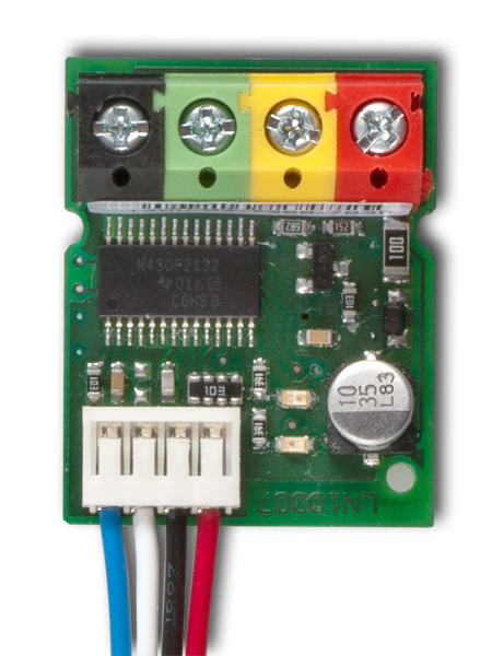 Sběrnicový modul připojení drátového detektoru