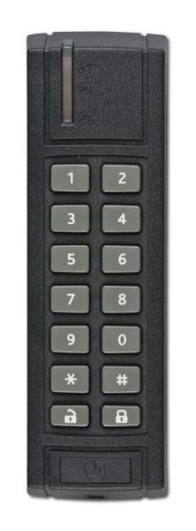 Sběrnicová venkovní klávesnice se čtečkou RFID