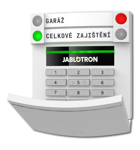 Bezdrátový přístupový modul s klávesnicí a RFID