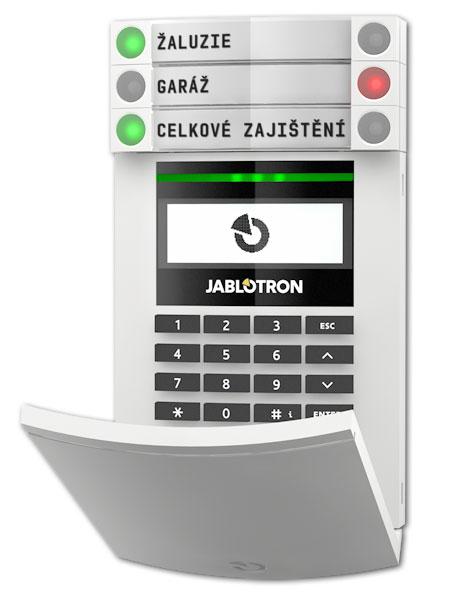 přístupový modul s displejem, klávesnicí a RFID