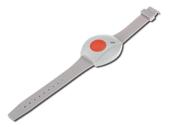 Bezdrátové přenosné aktivační tlačítko