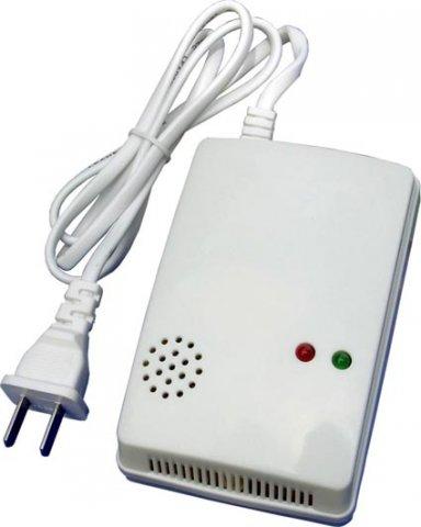 bezdrátový detektor plynu