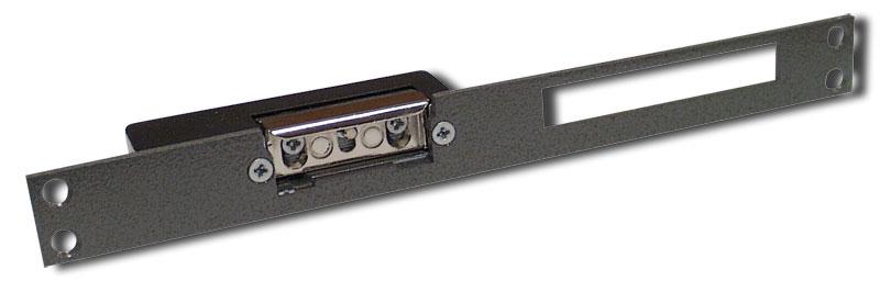 Elektromagnetický otevírač dveří s paměťovým kolíkem a mech. vyřazením funkce