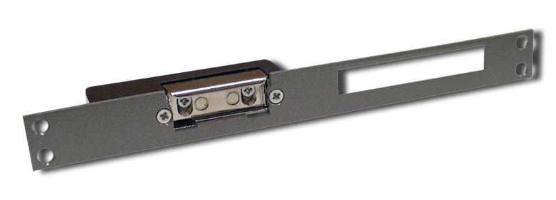 Elektromagnetický otevírač dveří s paměťovým kolíkem a mechanickým vyřazením funkce.